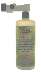 Poop-Off Outdoor Multi-Use 32 oz with Garden Sprayer