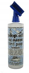 Poop-Off All Marine Bird Poop Remover 16 oz brush top
