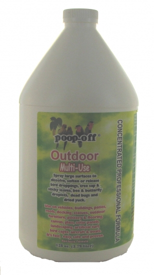 Poop Off Outdoor Multi Use 128 Oz Refill